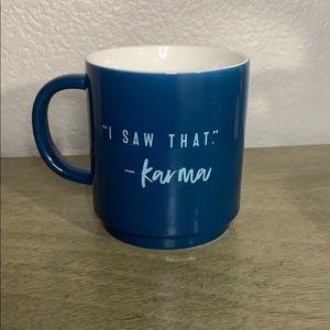 Threshold Karma Coffee & Tea Mug Blue